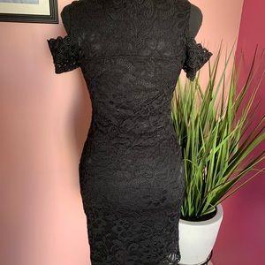 Charlotte Russe: Black lace dress